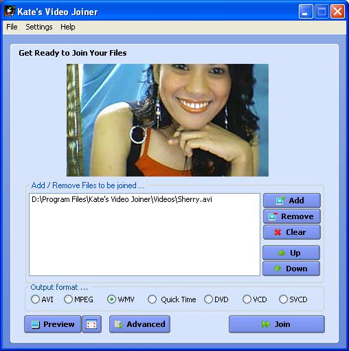 Kate`s Video Joiner Freeware